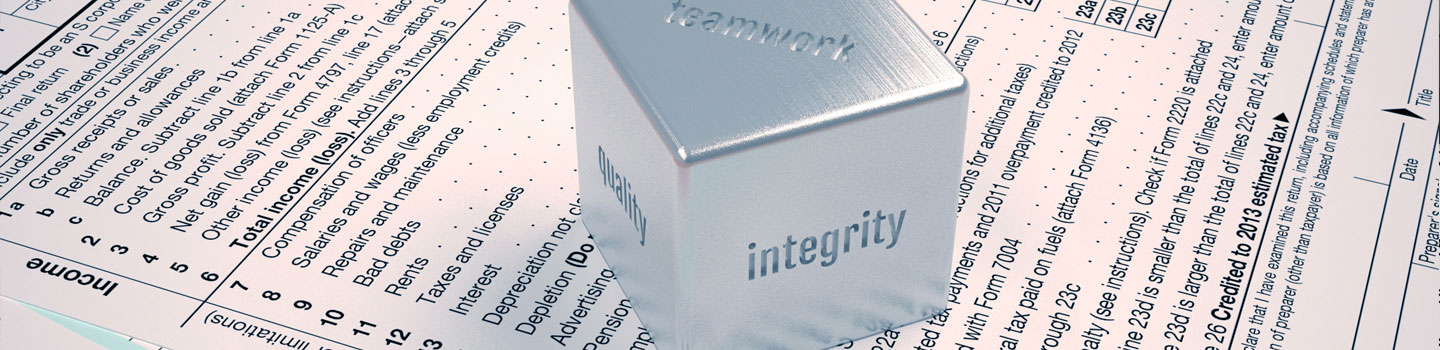 Integrity is the core of my business